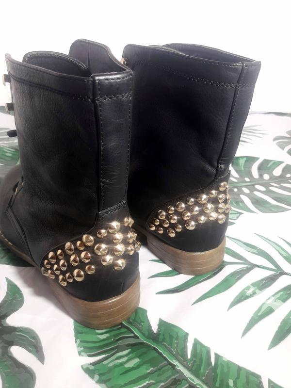 Распродажа! актуальные ботинки с шипами + натур кожа - Фото 8