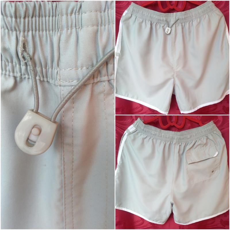 Легкие шорты на резинке для спорта, для отдыха_спортивні зручн...