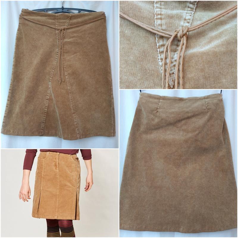 Вельветовая юбка р. 46-48 вельветова спідниця