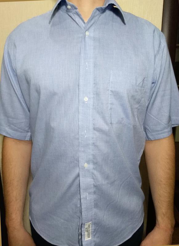Рубашка мужская с коротким рукавом, тенниска austin reed (m 39...