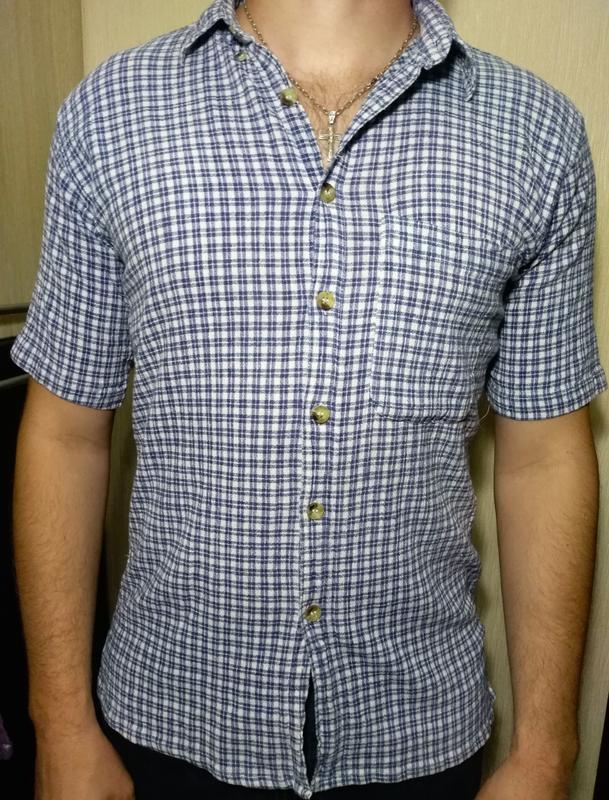 Рубашка мужская с коротким рукавом, тенниска farista (s 36-37)...