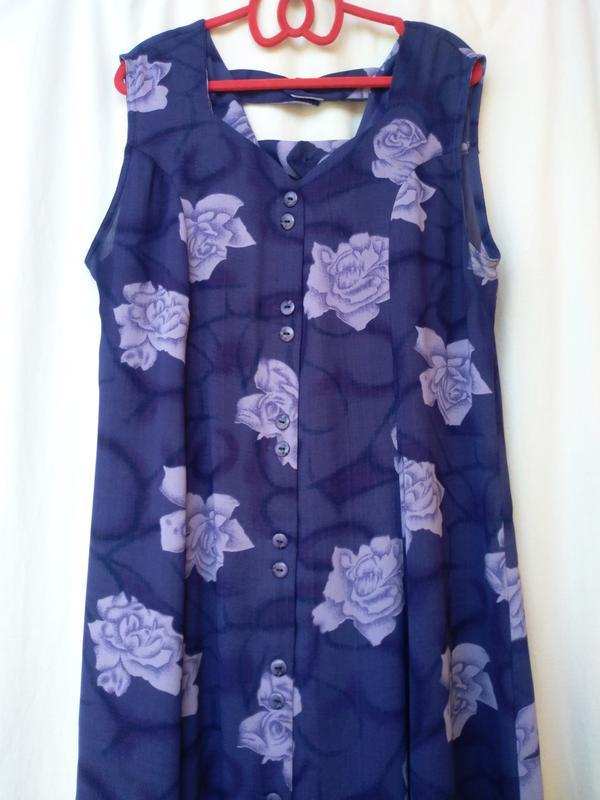 Летний сарафан  р.52  летнее платье