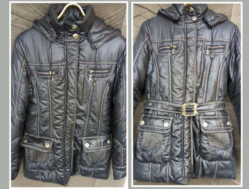 Зимняя теплая куртка-пуховик на двойном синтепоне_зимова куртка