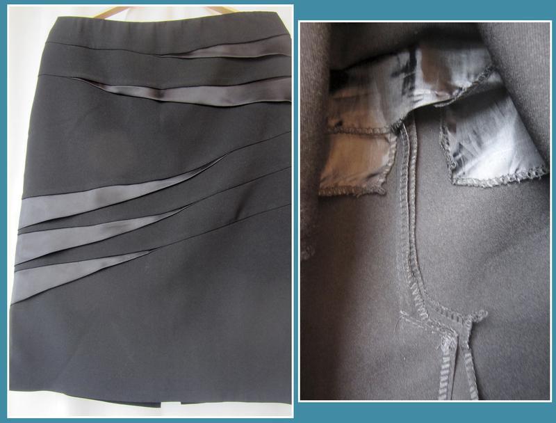 Прямая юбка классического фасона_пряма спідниця класична