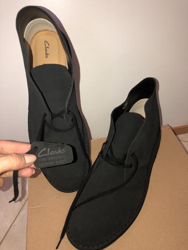 Шикарные мужские осенние ботинки clarks, оригинал, мужские дез...