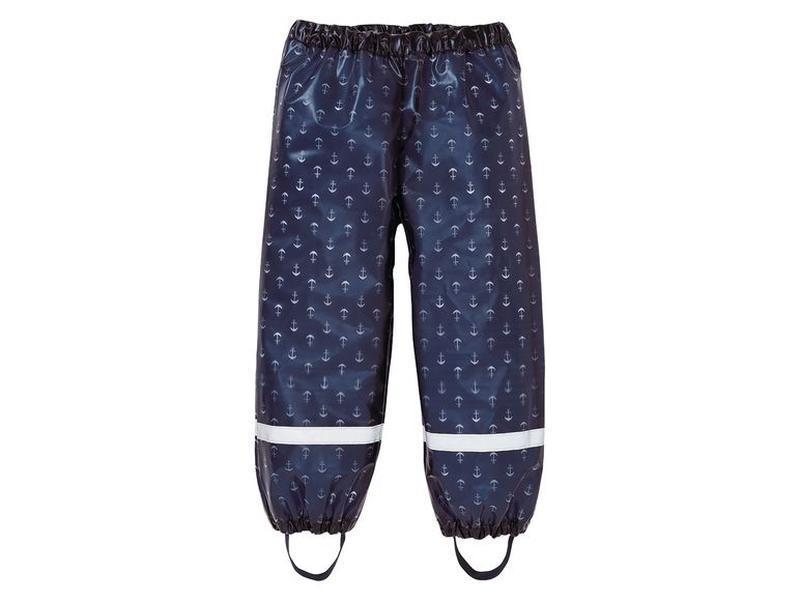 Водонепроницаемые штаны дождевик 122-128