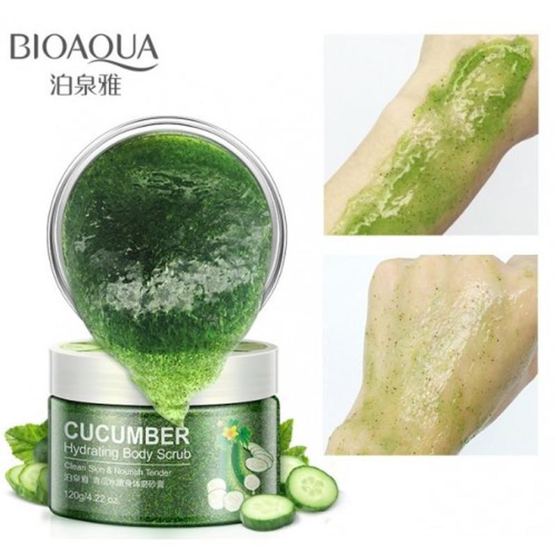 Cкраб для тела bioaqua cucumber hydrating body scrub 120 г