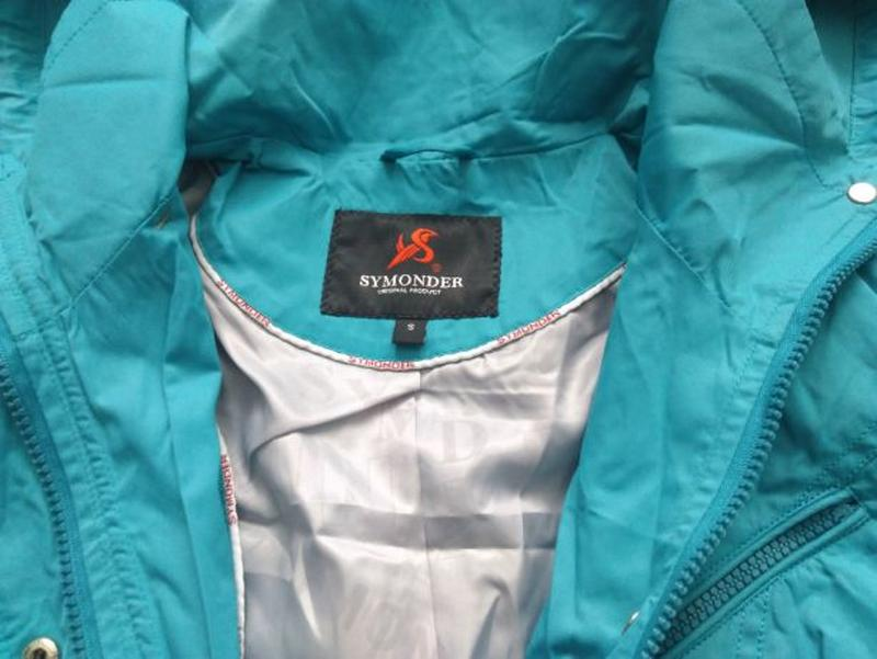 Женское весеннее пальто Symonder. Ярко-голубого цвета. Размер S - Фото 4