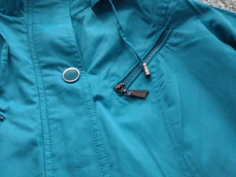 Женское весеннее пальто Symonder. Ярко-голубого цвета. Размер S - Фото 5
