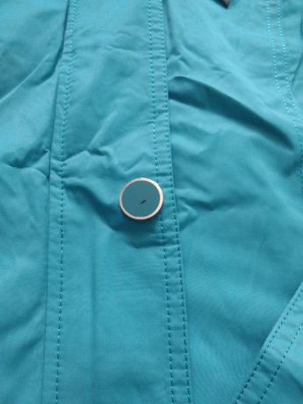 Женское весеннее пальто Symonder. Ярко-голубого цвета. Размер S - Фото 6
