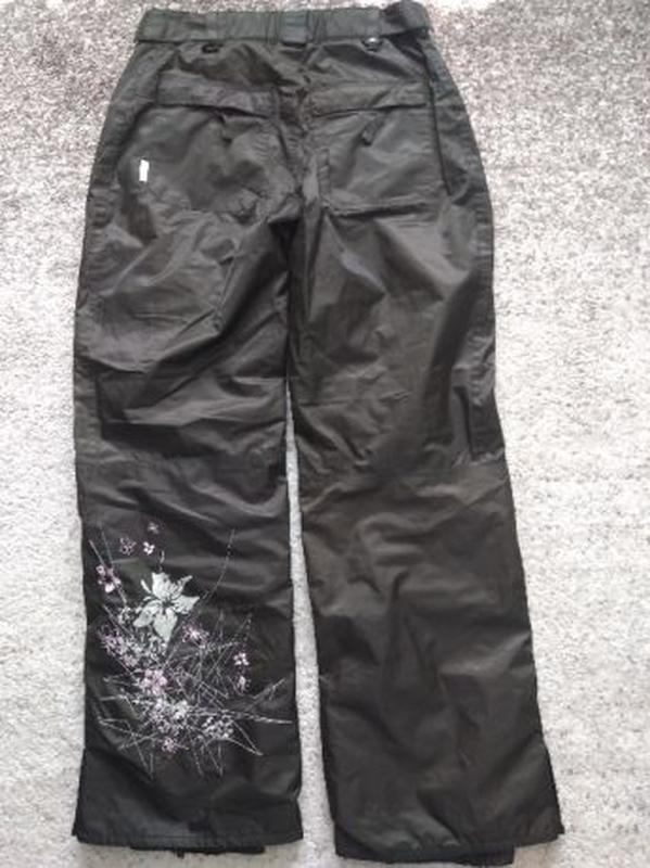 Женские зимние лыжные штаны с вышивкой. Snow Wave, размер L