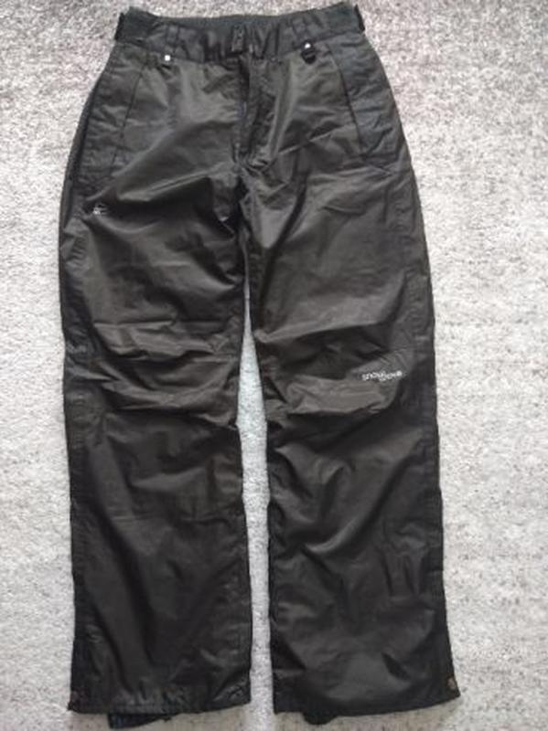 Женские зимние лыжные штаны с вышивкой. Snow Wave, размер L - Фото 2