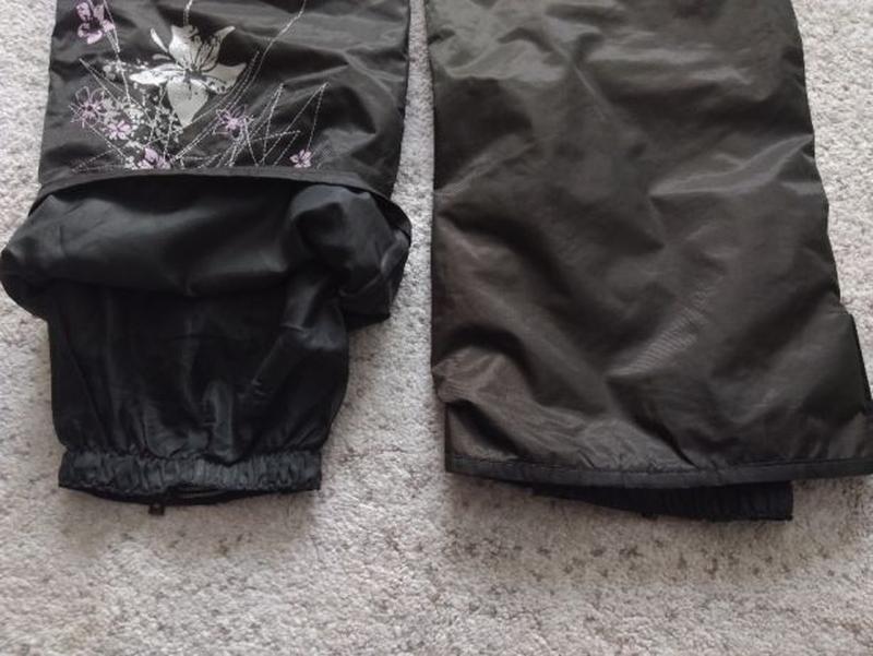 Женские зимние лыжные штаны с вышивкой. Snow Wave, размер L - Фото 7