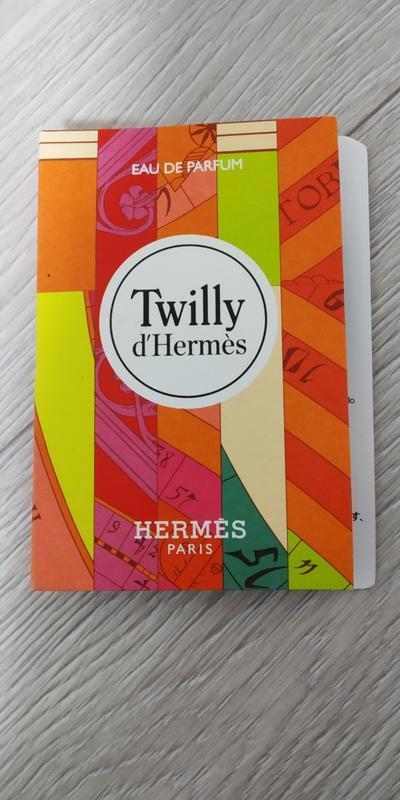 Hermes twilly d`hermes парфюм для женщин 2мл