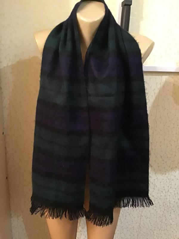 Теплый стильный мягусенький шарф из акрила