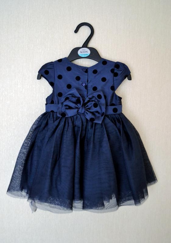Офигенное пышное платье mothercare 9-12месяцев на годик