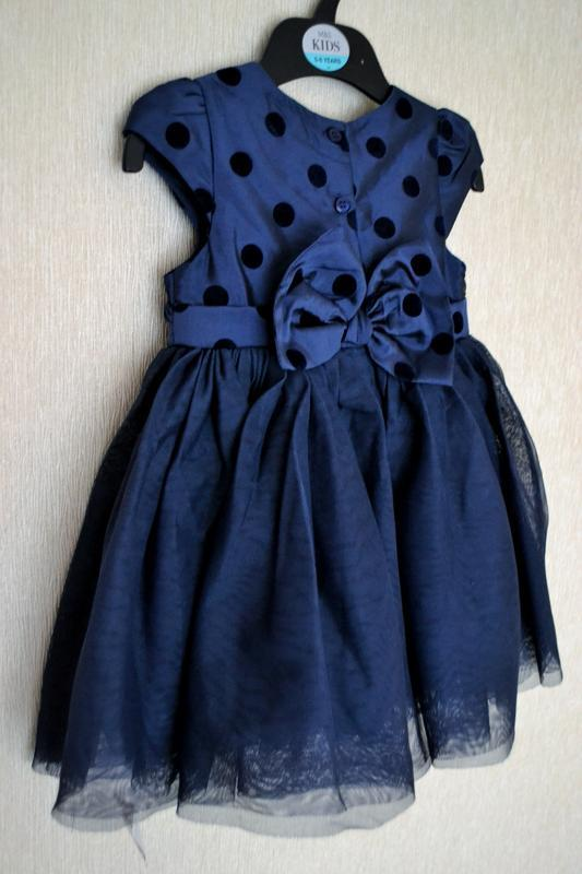 Офигенное пышное платье mothercare 9-12месяцев на годик - Фото 2