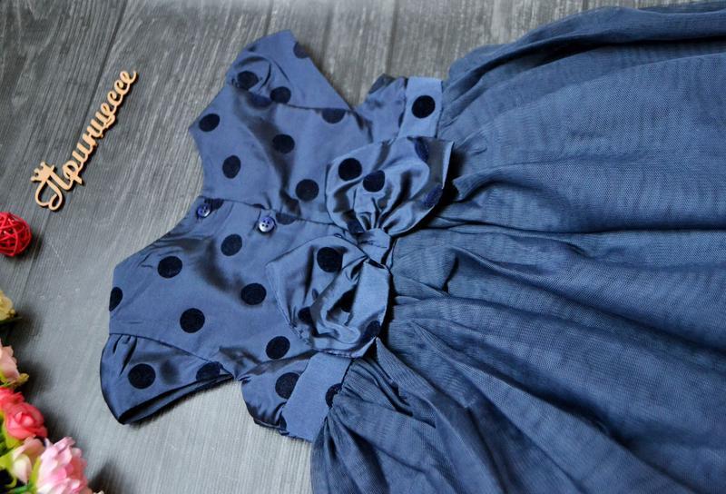 Офигенное пышное платье mothercare 9-12месяцев на годик - Фото 6