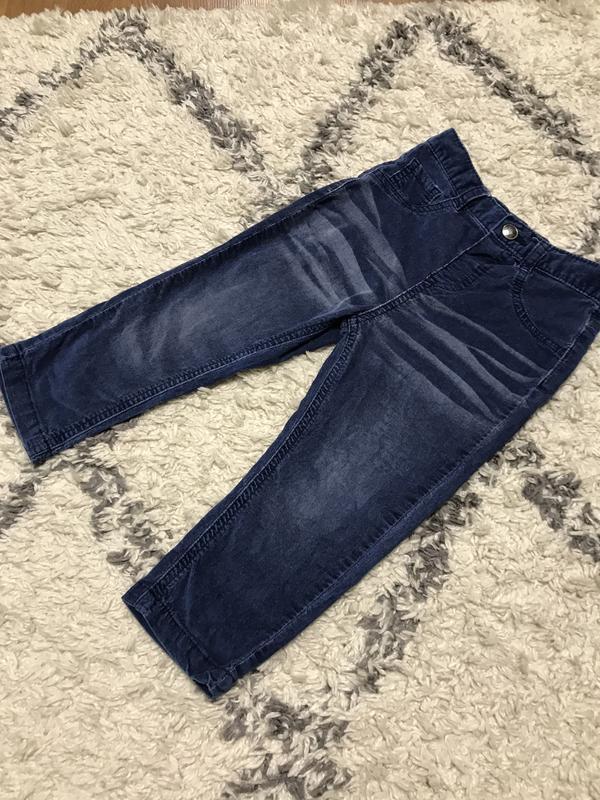 Вельветовые джинсы m&co