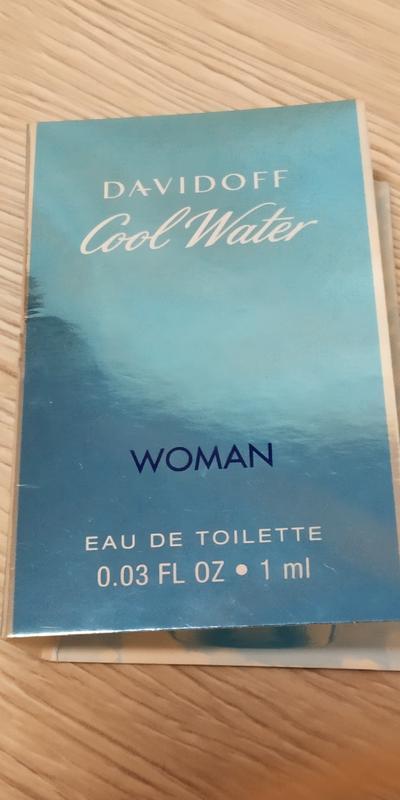 Davidoff cool water woman туалетная вода для женщин 1мл