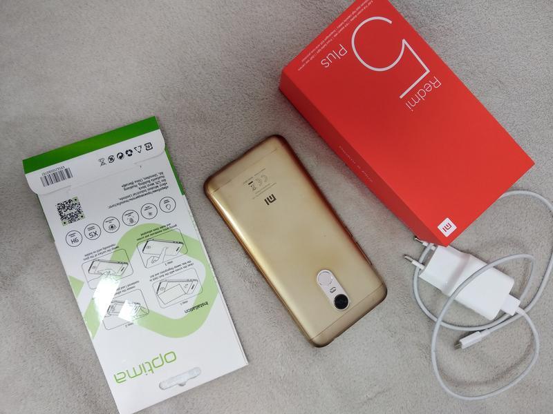Xiaomi redmi 5 plus global 3/32 gold - Фото 2
