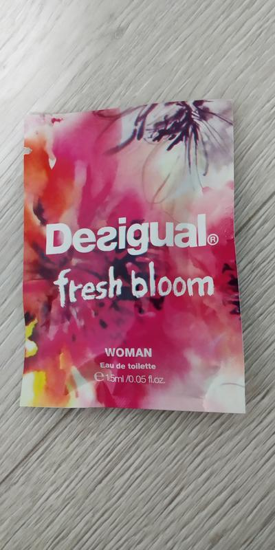 Desigual fresh bloom туалетная вода для женщин 1.5мл