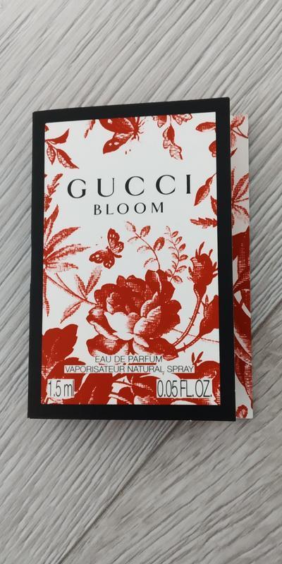 Gucci bloom  парфюм для женщин 1.5мл