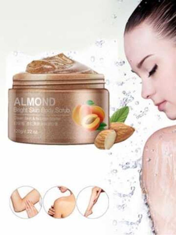Cкраб для тела bioaqua almond bright skin body scrub 120 г