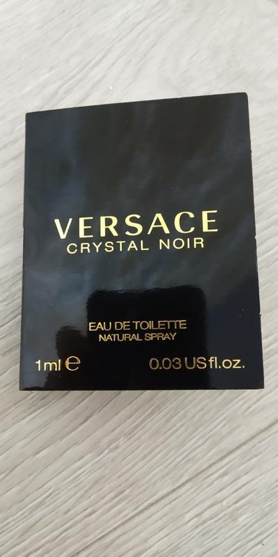 Versace crystal noir туалетная вода для женщин 1мл