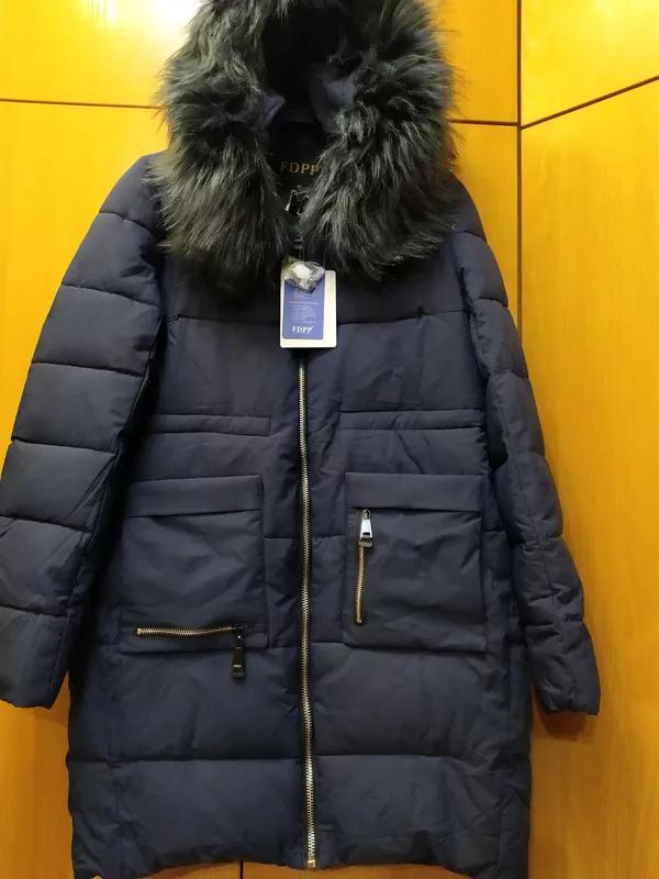 Зимняя женская куртка пальто