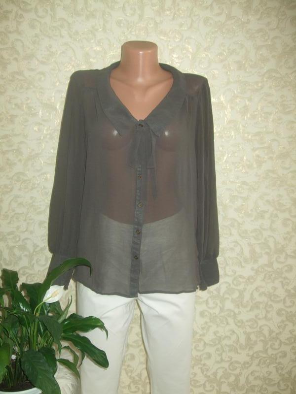 Шифоновая блуза naf naf