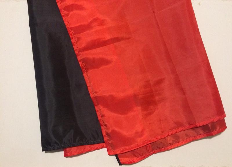 Червоно чорний прапор. Прапор УПА. Розмір 135х90 см. - Фото 2