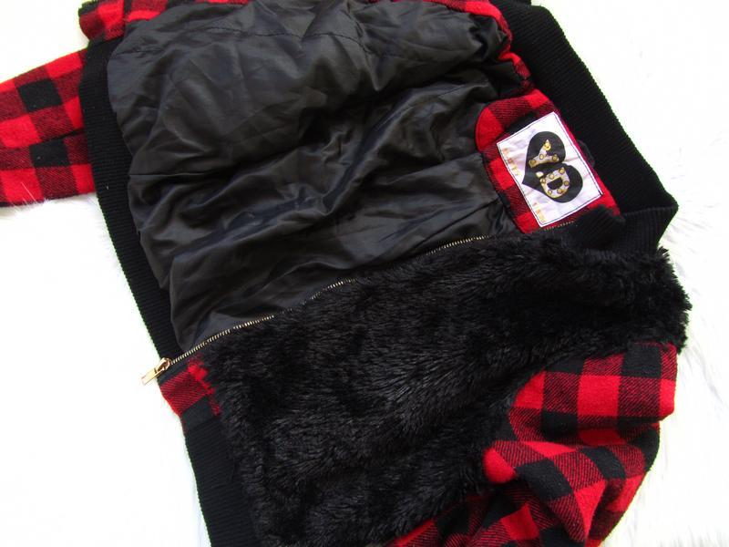 Стильная утепленная  куртка бомбер пальто young dimension - Фото 3