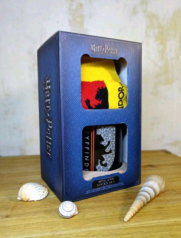 Подарочный набор Гарри Поттер Чашка+Носки в ПОДАРОЧНОЙ уп!