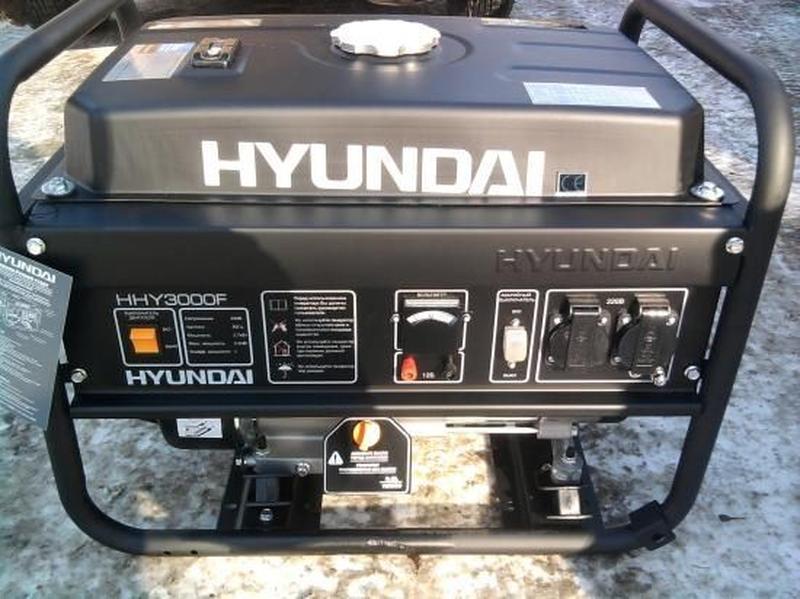 генератор Hyundai HHY3000FE