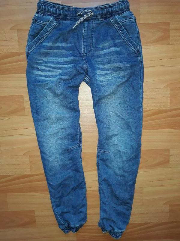 Мягкие джинсы-джоггеры george на 9-10 лет