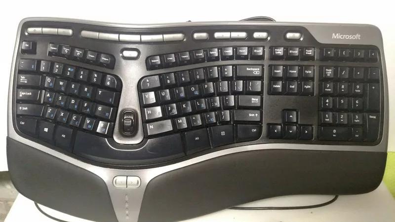Клавиатура Microsoft Natural Ergonomic Keyboard 4000 USB