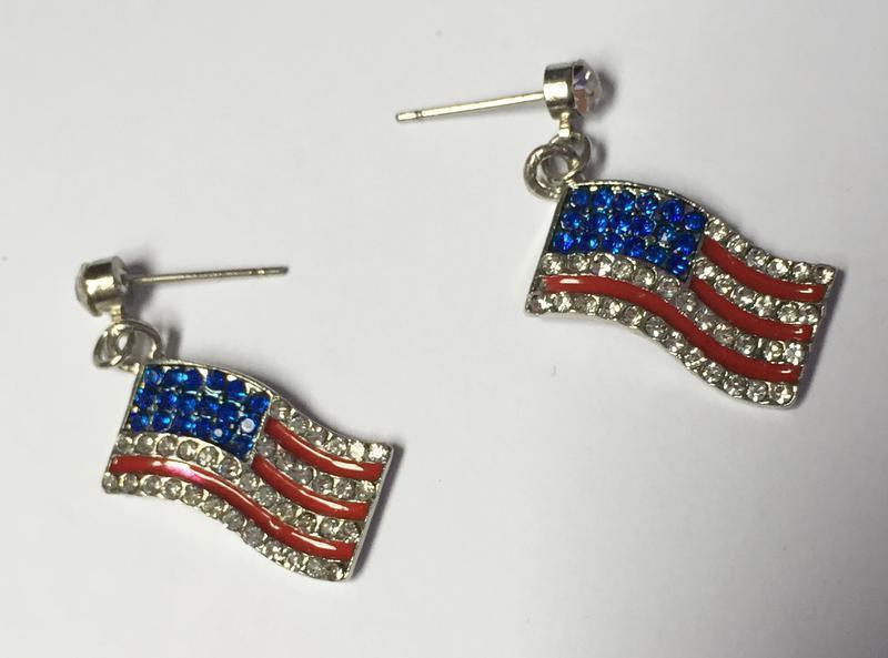 Серьги, сережки, прикраси, украшения, бижутерия американський ...