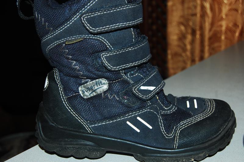 Зимние ботинки superfit 29 р