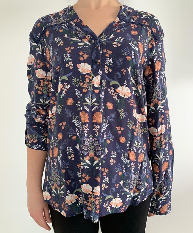Блузка в квітковий принт, блузка, очень красивая блуза, блуза ...