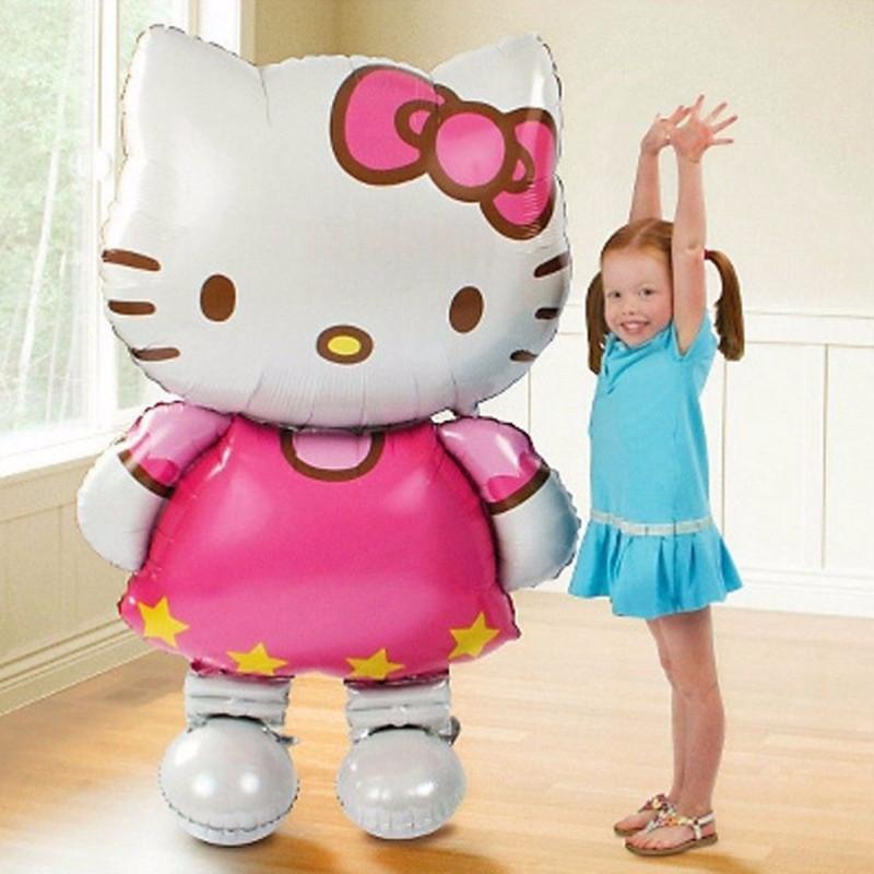 Надувний шарик з фольги Hello Kitty