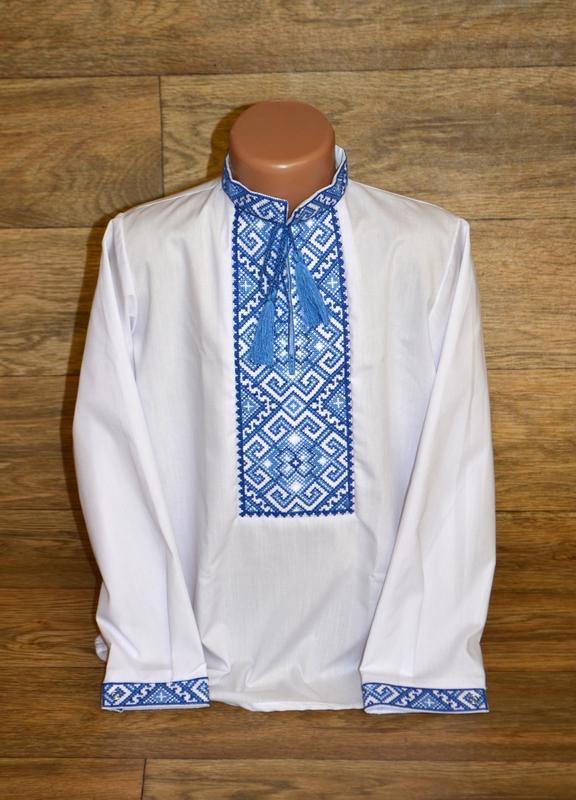 Вишиванка, рубашка-вышиванка для мальчика 9 лет