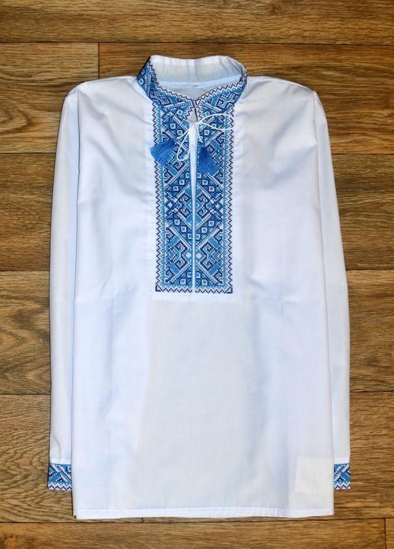Вишиванка, рубашка-вышиванка для мальчика 12 лет