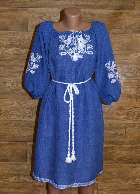 Вишиванка,платье-вышиванка размер м/l