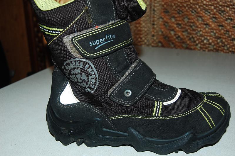 Зимние ботинки superfit 33 размер