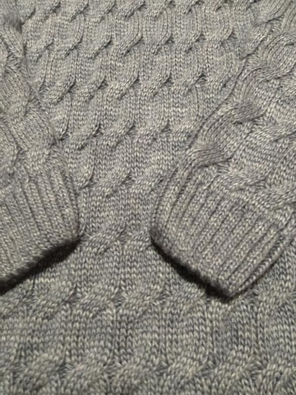Женский длинный облегающий свитер-платье - Фото 3