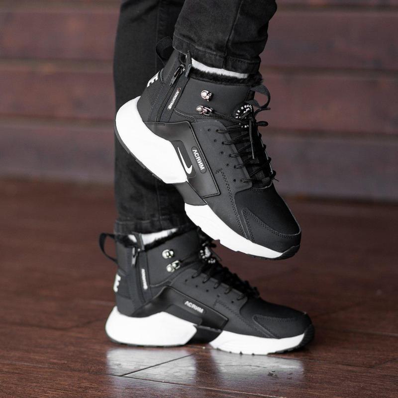 Шикарные мужские зимние кроссовки / ботинки ❣️ nike air huarac...