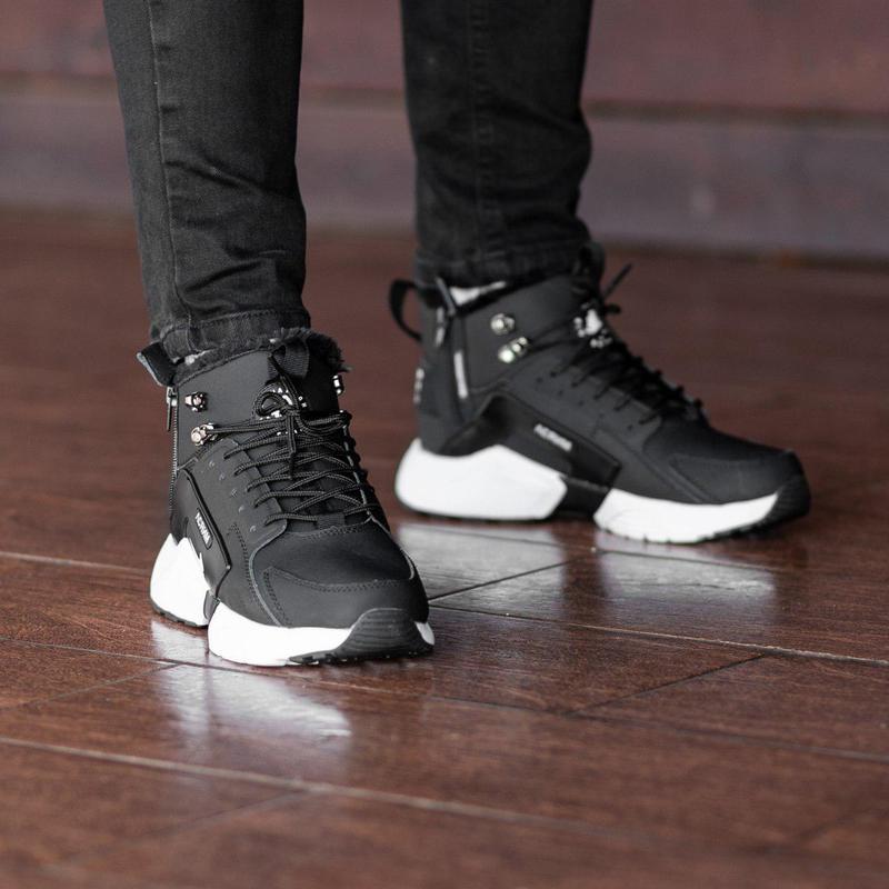 Шикарные мужские зимние кроссовки / ботинки ❣️ nike air huarac... - Фото 2