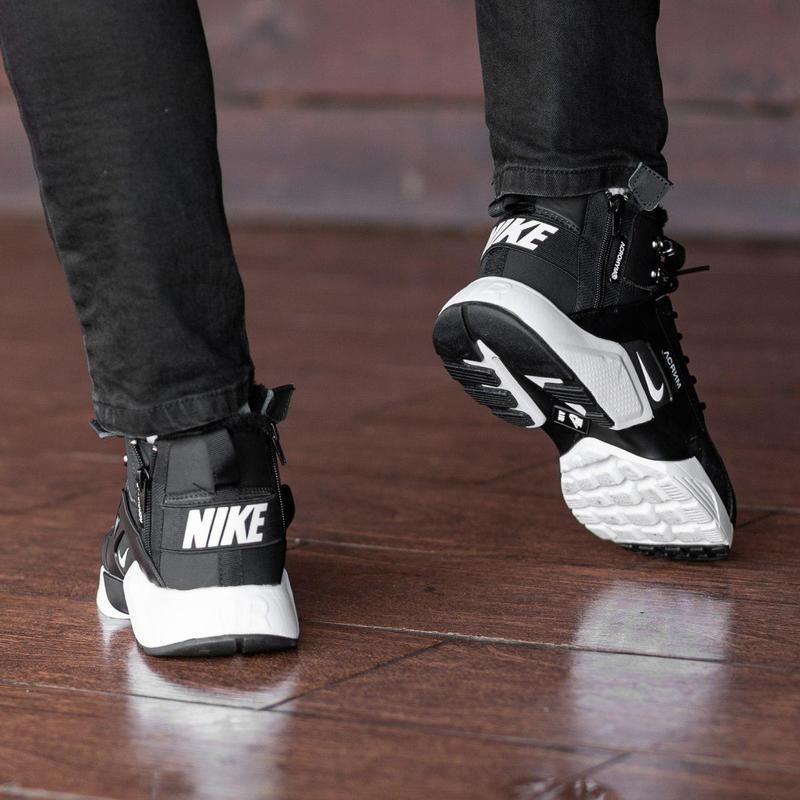 Шикарные мужские зимние кроссовки / ботинки ❣️ nike air huarac... - Фото 3