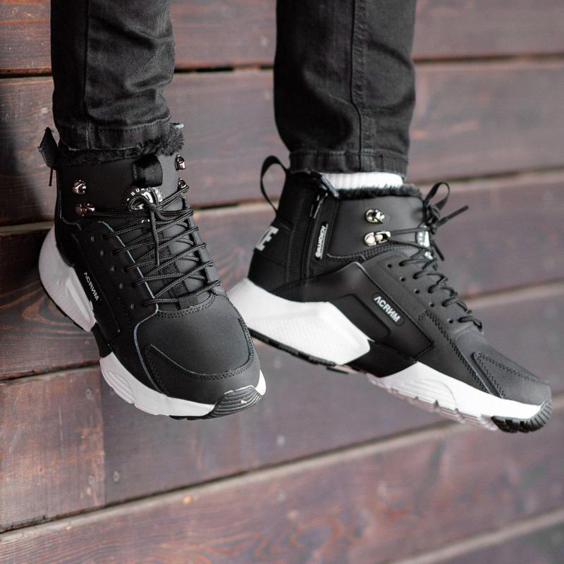Шикарные мужские зимние кроссовки / ботинки ❣️ nike air huarac... - Фото 4